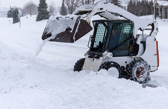 Bobcat Snow Removal